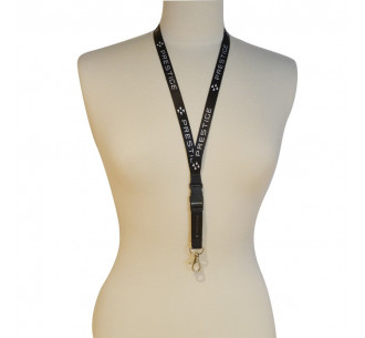 Black lanyard (pack of 20)